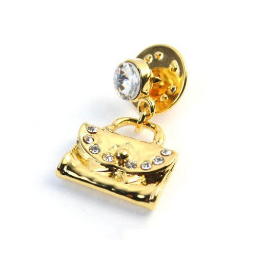Bonita, brosa placata cu aur de 18 k , colectia Classics