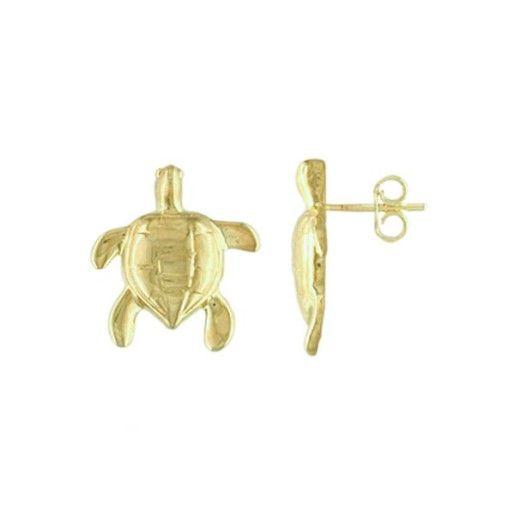 Cercei placati cu aur de 18 k, 2 microni - 1345O816