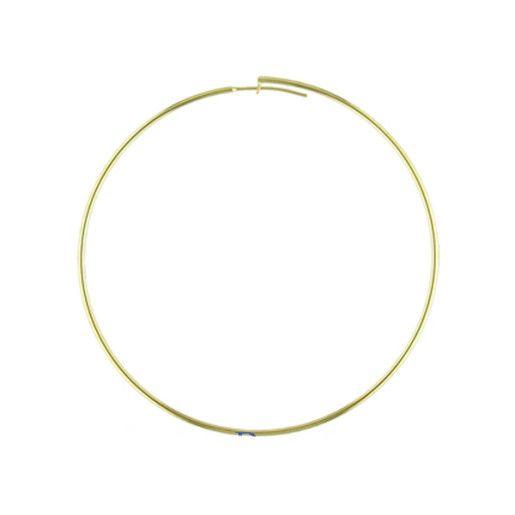 Selena, Cercei placati cu aur de 18 K, colectia Golden Shine