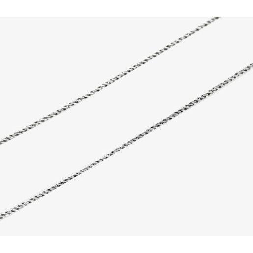 Lant argint 925, oxidat model rotund - 179O311