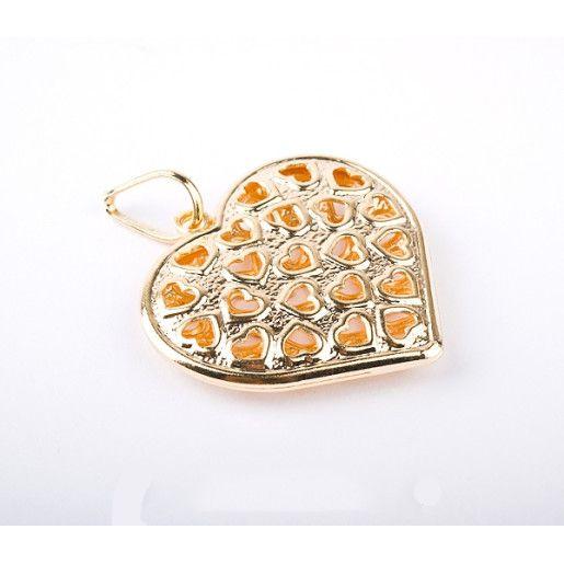 pandantiv placat cu aur, colectia Golden Shine-2541O712
