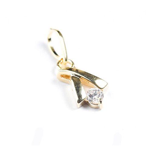 pandantiv placat cu aur, colectia Golden Shine-2655O723