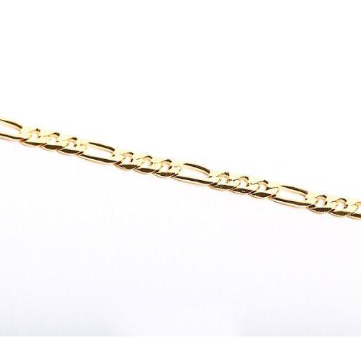 Bratara placata cu aur de 18 k, colectia Golden Shine