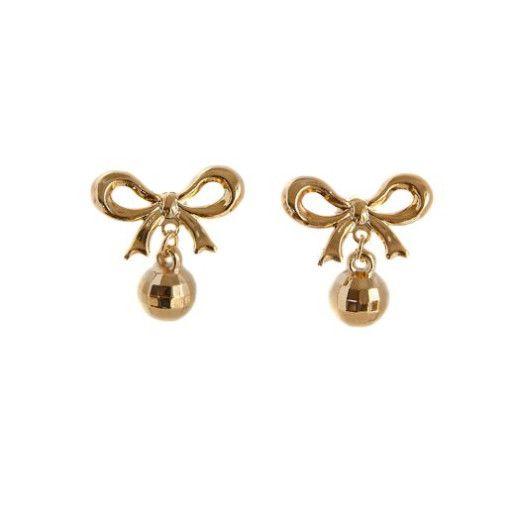 Nicoleta, Cercei placati cu aur de 18 k, colectia Golden Shine