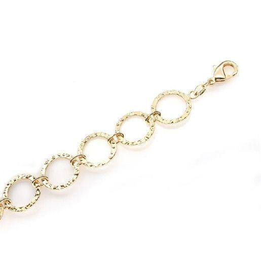 Bratara placata cu aur de 18 k, colectia Golden Shine Brazil - 361O447