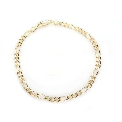 Bratara placata cu aur de 18 k, colectia Golden Shine Brazil - 366O415