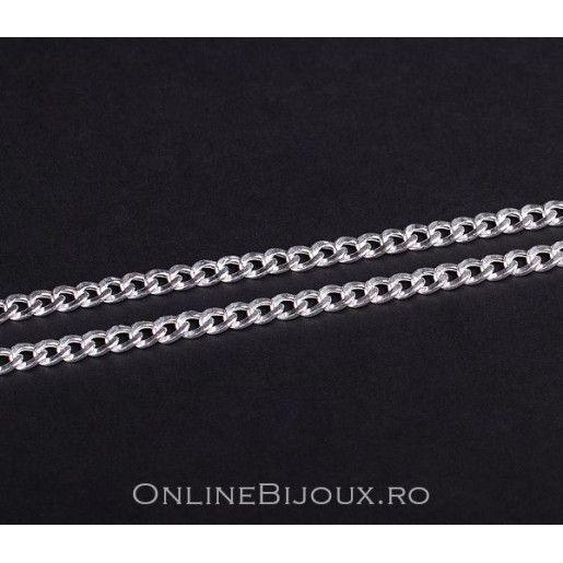 Lant barbatesc, argint 925 rodiat, design italian - 5402O387