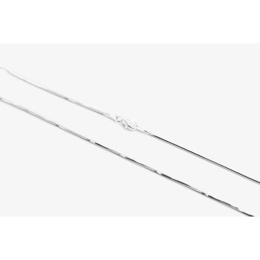 Lant argint 925, rodiat, design italian, model rotund - 579O327