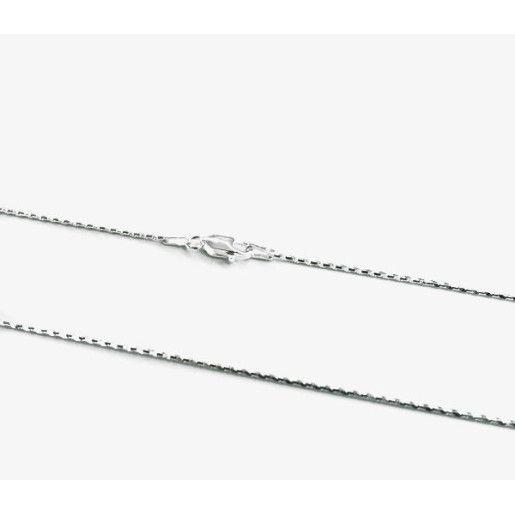 Lant argint 925 rodiat, diamantat, design italian - 580O325
