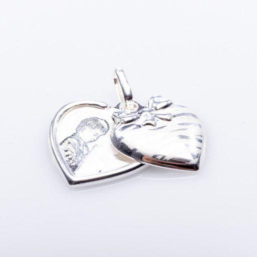 Pandantiv argint 925, rodiat, colectia My Love