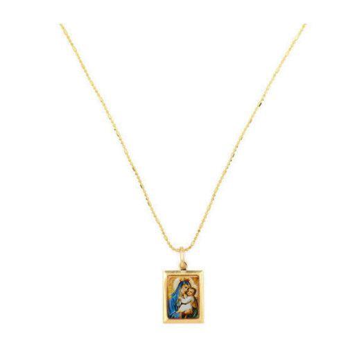Colier placat cu aur, colectia Golden Shine-6051O521