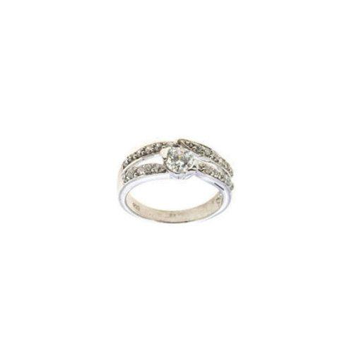 Inel argint 925, colectia Sparkling Zircon