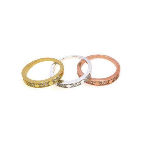 Eternity, inel argint 925, rodiat
