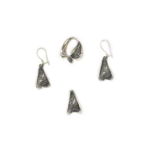 Antic style, set argint 925, antichizat