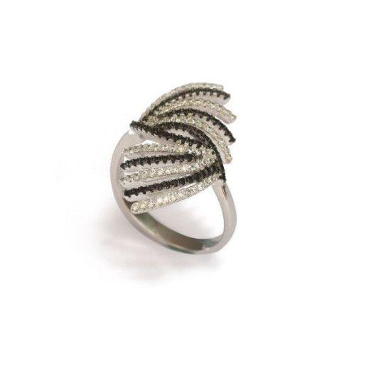 Inel argint 925, rodiat, colectia Sammy
