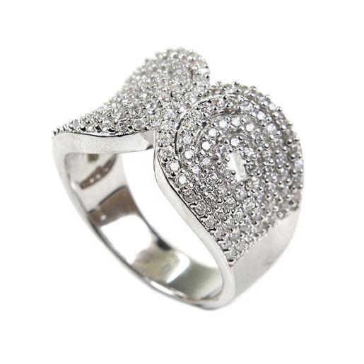 Wendy, inel argint 925, rodiat, colectia Milano