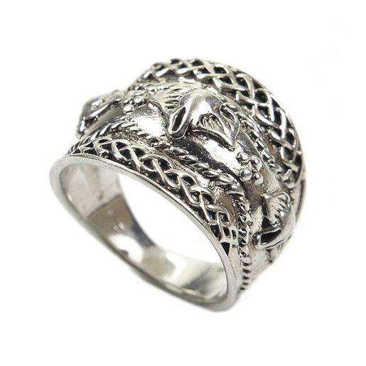 Inel argint 925, model vintage antichizat, fara pietre