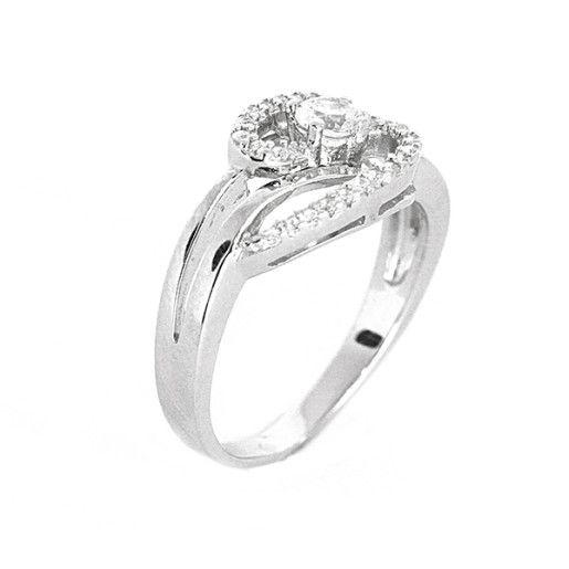 Jessie, inel argint 925, rodiat