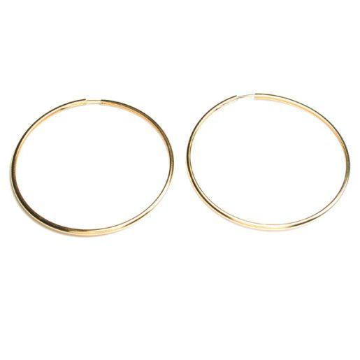 Cercei placati cu aur, colectia Golden Shine-641O813