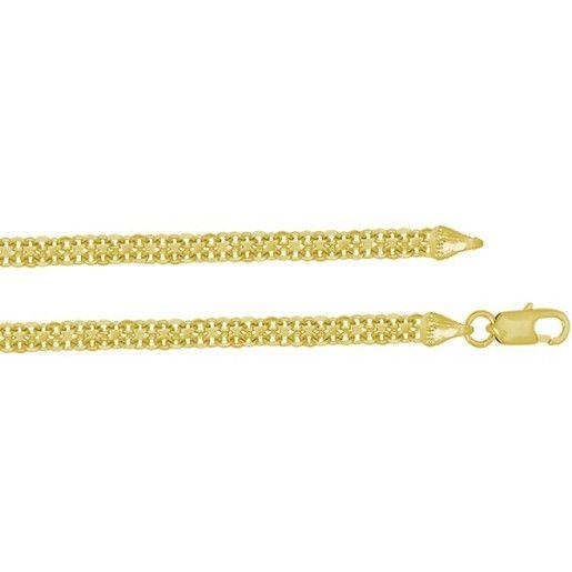 Bratara placata cu aur de 18 k, Simply clasic