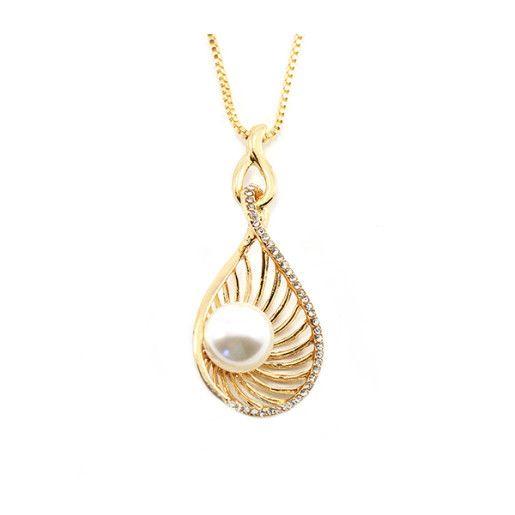Colier placat cu aur, colectia Golden Shine-6481O347
