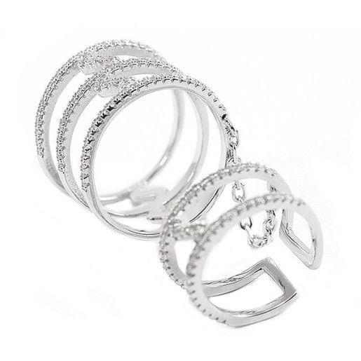 Victory , inel argint 925, radiat, design italian