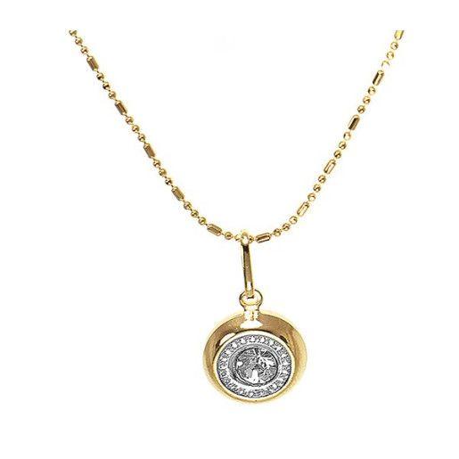 Colier placat cu aur, colectia Golden Shine-6589O317