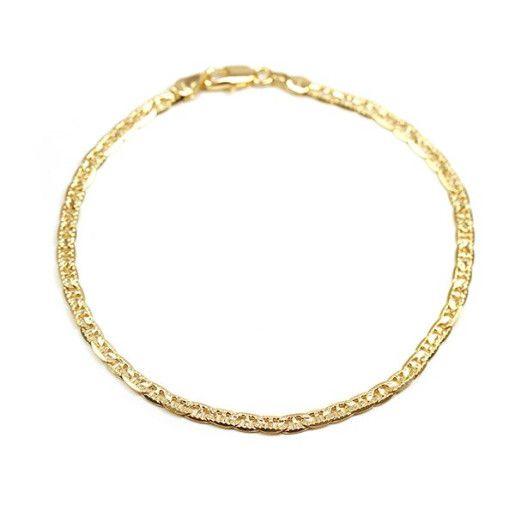 Bratara placata cu aur de 18 k, colectia Greek, model diamantat