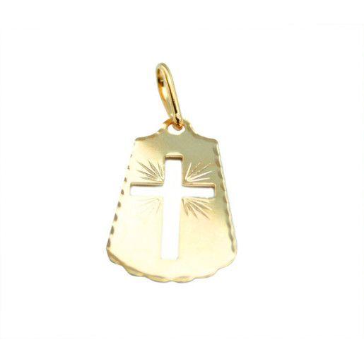 pandantiv placat cu aur, colectia Golden Shine-661O78