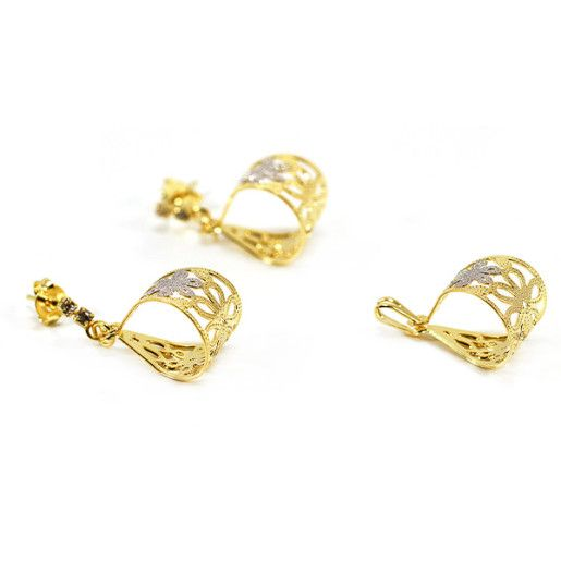 Set placat cu aur, colectia Golden Shine-6646O533