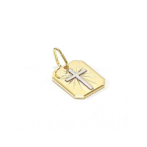 pandantiv placat cu aur, colectia Golden Shine-6744O78