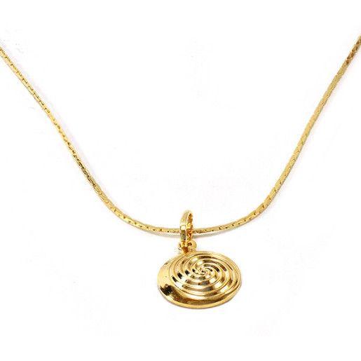 Colier placat cu aur, colectia Golden Shine-6748O318