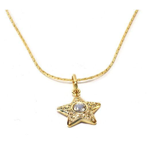 Colier placat cu aur, colectia Golden Shine-6751O319