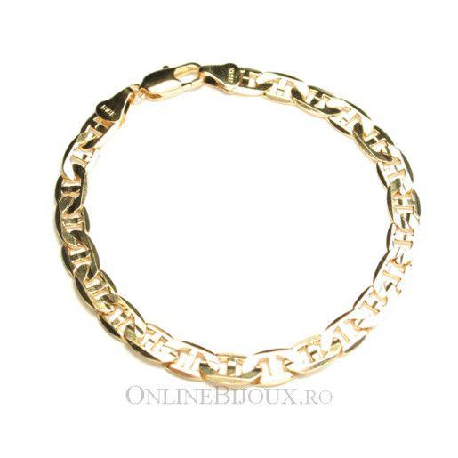 Bratara placata cu aur de 18 k, colectia Brazil , model grecesc