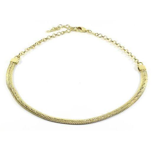 Colier placat cu aur, colectia Golden Shine-6806O3150