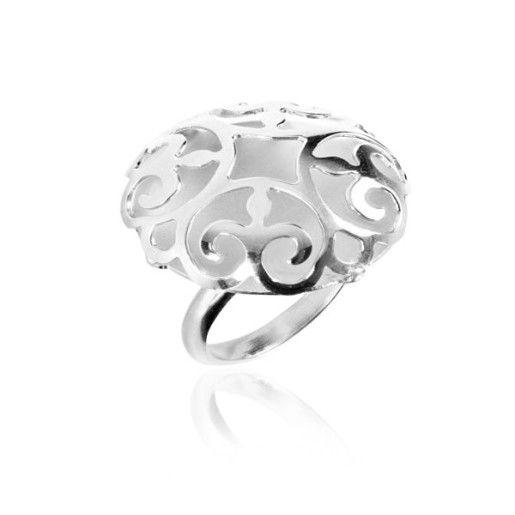 Gracie, inel argint 925, rodiat, fara pietre