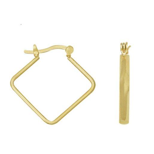 Cercei placati cu aur, colectia Golden Shine-6897O813