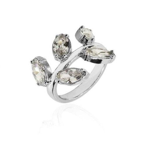 Olivia, inel argint 925, rodiat