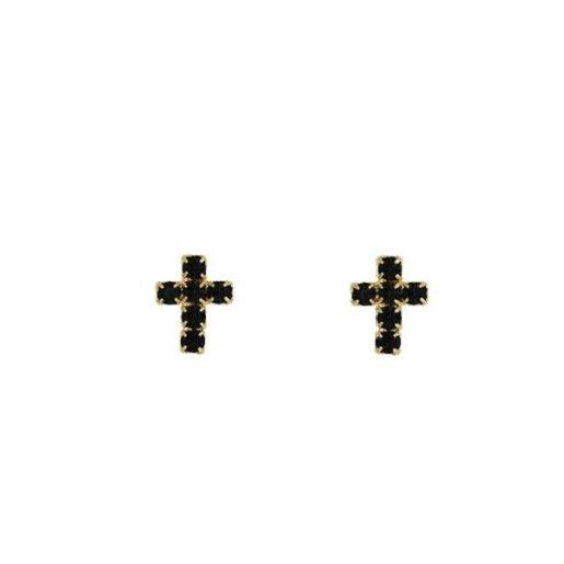 Cercei placati cu aur, colectia Golden Shine-6981O813
