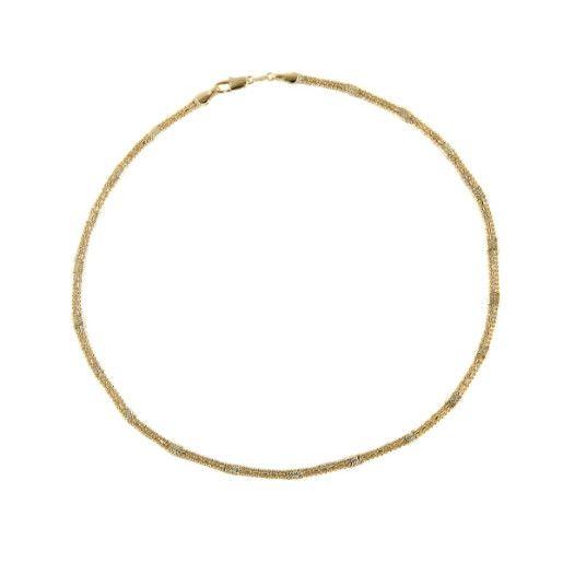 Colier placat cu aur, colectia Golden Shine-7117O375