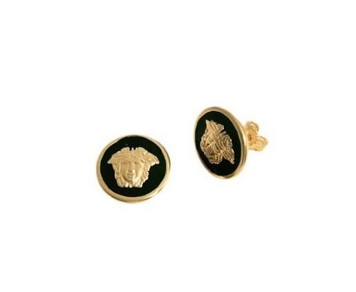 Cercei placati cu aur de 18 k, colectia onlinebijoux golden shine Brazil 7540o815