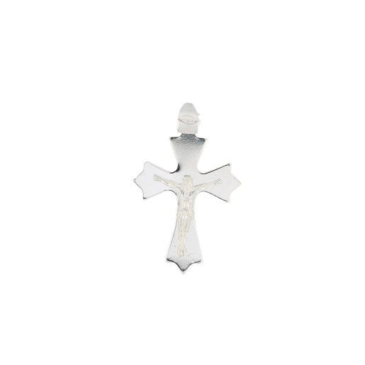 Pandantiv argint 925,motiv religios, rodiat - 7359O715