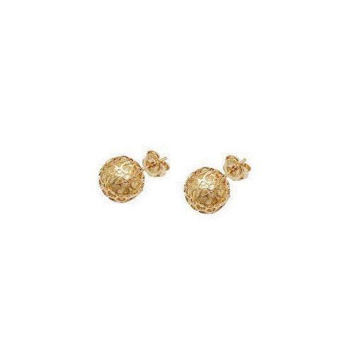 Magic ball, cercei placati cu aur de 18 k – 2 microni 7402o819