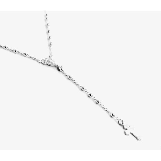 Rozariu argint 925, design italian pentru 59 de rugaciuni 7466O379