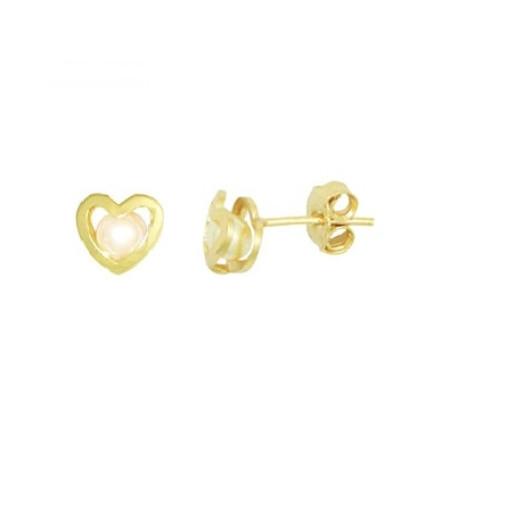 Cercei placati cu aur de 18 k, colectia onlinebijoux, productie Brazilia, 7545O815