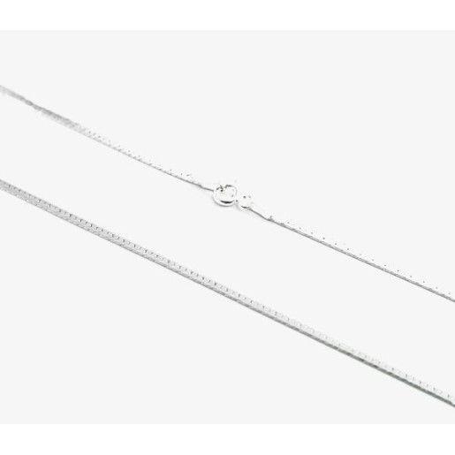 Lant argint 925 rodiat, design italian, model plat - 948O315