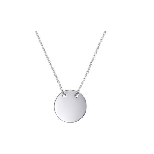 Colier argint 925, rodiat , model banutul norocos - 7590O324