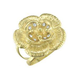Shyla, inel placat cu aur de 18 k , 2 microni