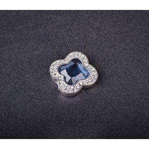 Pandantiv argint 925, design italian. Pietre: zircona - 2449O753