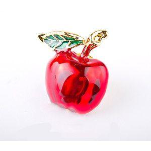 My apple,brosa placata cu aur de 18 k, colectia Perfect ghift